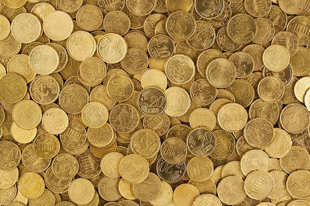 evropské mince