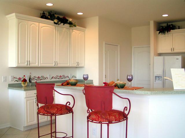 bodové žárovky v kuchyni