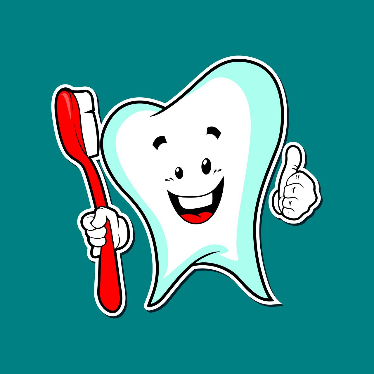 zub s kartáčkem